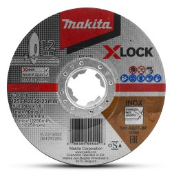 Pjovimo diskas MAKITA X-Lock 125x1,2mm RST