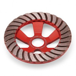 Deimantis šlifavimo diskas FLEX Turbo-Jet 125x28x23,5