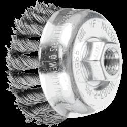 Metalinis šepetys-taurelė Ø65 PFERD TBG ST M14