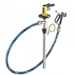 Statinių ir talpų pneumatinio siurblio rinkinys LUTZ Set Ex, 1000 mm