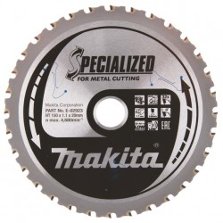 Metalo pjovimo diskas MAKITA HM 150x20mm 32T 0°
