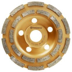 Deimantinė šlifavimo lėkštelė HUSQVARNA TACTI-GRIND G65 125x22,2mm
