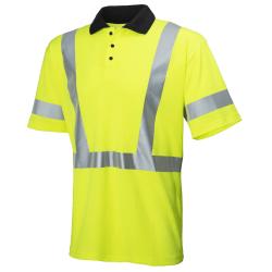 Marškinėliai HELLY HANSEN Ejsberg Polo, geltoni