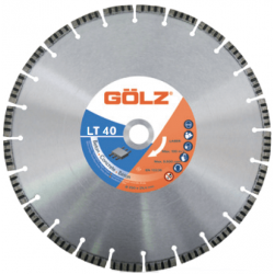 Deimantinis diskas betonui GOLZ LT40 300x25,4mm