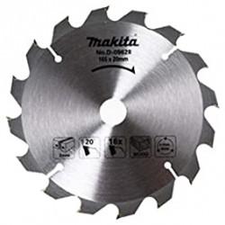 Pjovimo diskas medžiui MAKITA 165x20x2,0mm 5603R, 5604R