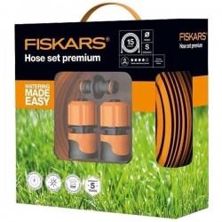 Laistymo žarna FISKARS Premium Q4 15m su priedais