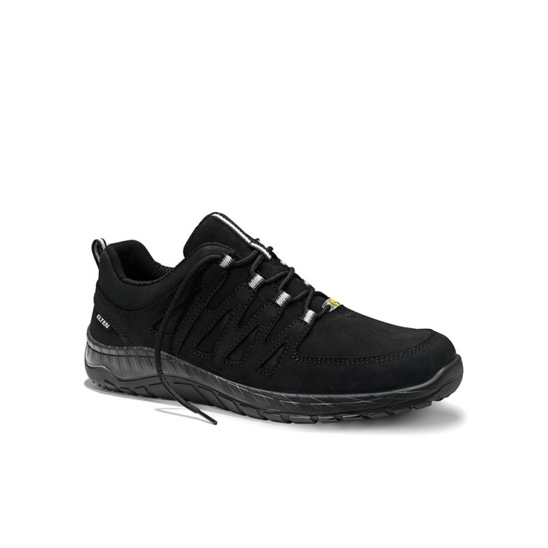 Batai ELTEN Maddox Black Leather Low ESD O2