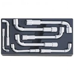 Lenktų vamzdinių raktų rinkinys STAHLWILLE Nr.4335/8-19