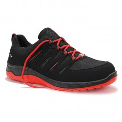 Batai ELTEN Maddox Black Red LOW O2, juodi/raudoni