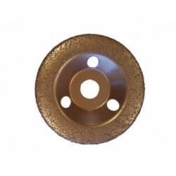 Kietmetalio grūdeliais padengtas šlifavimo diskas 125x22 mm EDMA