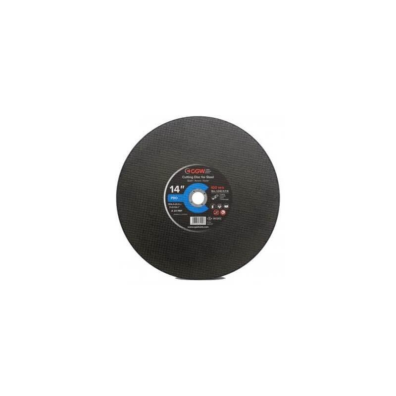 Bėgių pjovimo diskas Ø356x4,0x25,4 A24 S BF CGW