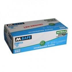 Vienkartinės nitrilinės pirštinės M SAFE 4520, 100vnt.