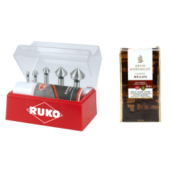 Gilintuvų rinkinys RUKO 6,3-25mm + dovana