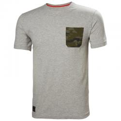 Marškinėliai HELLY HANSEN Kensington, pilki