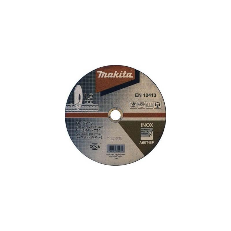 Pjovimo diskas 230 X 1,9 MM RST/ Metalui MAKITA