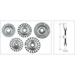 Metalinis šepetys 115x10x22mm OSBORN