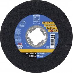 Pjovimo diskas PFERD EHT 125-1,6 PSF Steelox X-Lock