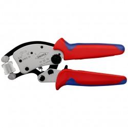 Antgalių užspaudimo replės KNIPEX Twistor 16