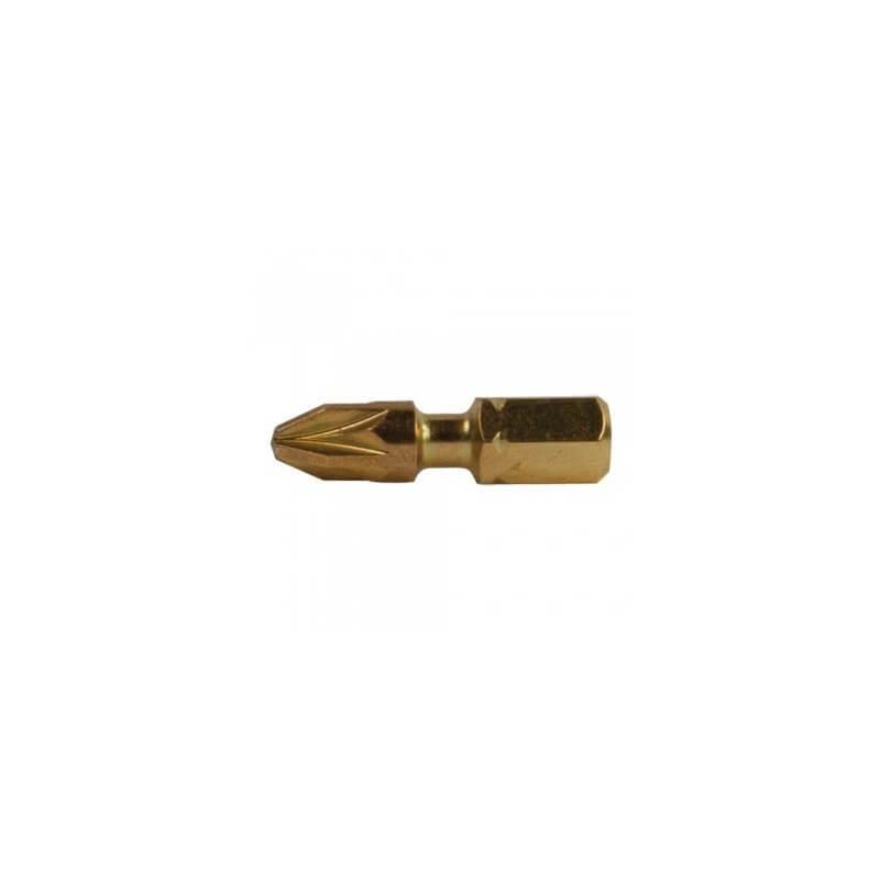 2 vnt. Torsion sukimo antgalių PZ 1-25mm MAKITA B-28444