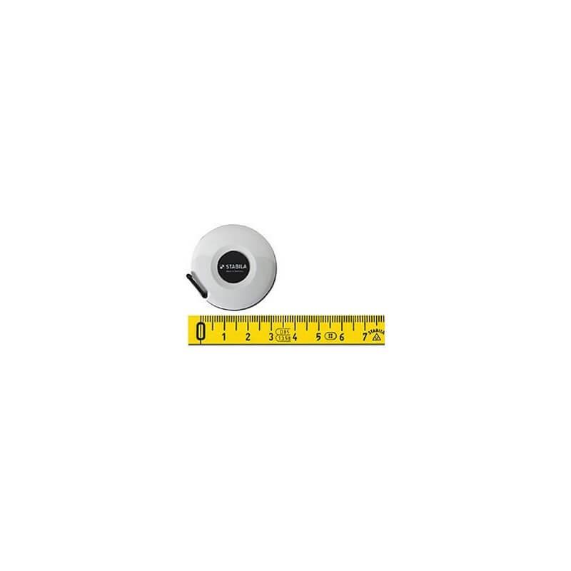 Poliamidu dengta metalinė ruletė STABILA 49P