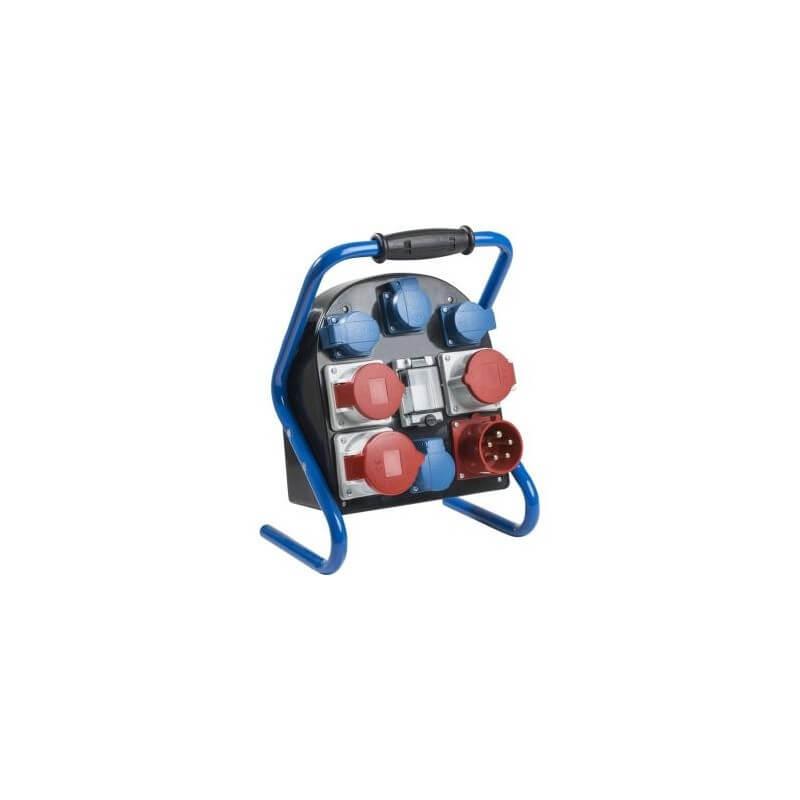 Mobili el. paskirstymo dėžė 1x400V/32A, 2x400V/16A, 4x230V/16A AS-SCHWABE
