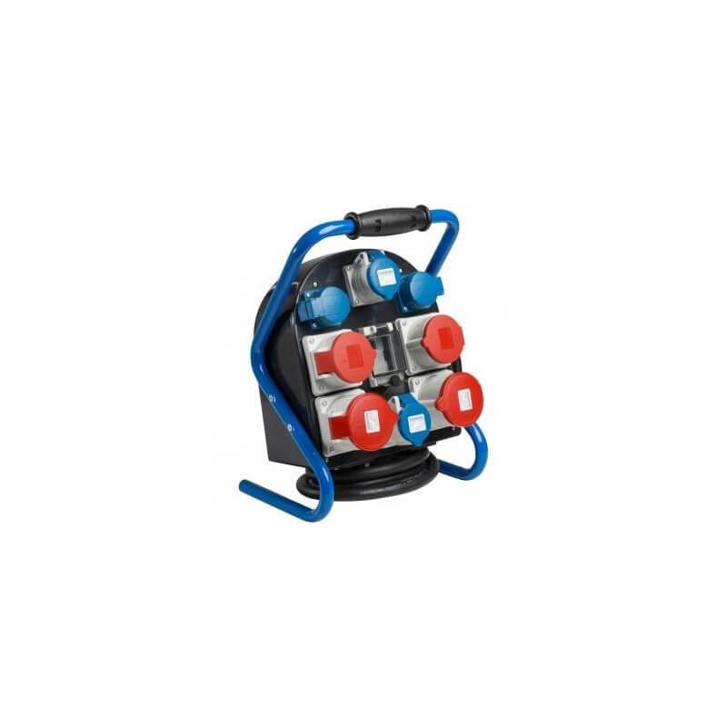 Mobili el. paskirstymo dėžė 2x400V/32A, 2x400V/16A, 4x230V/16A AS-SCHWABE