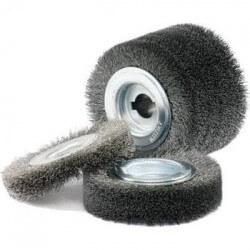 Vielos šepetys GERD 100*70 nerūdijančio plieno 0,2 mm