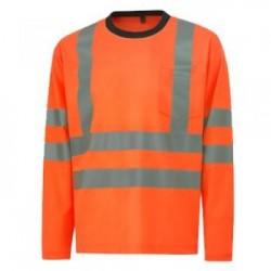 Marškinėliai ilgomis rankovėmis HELLY HANSEN Kenilworth, oranžiniai