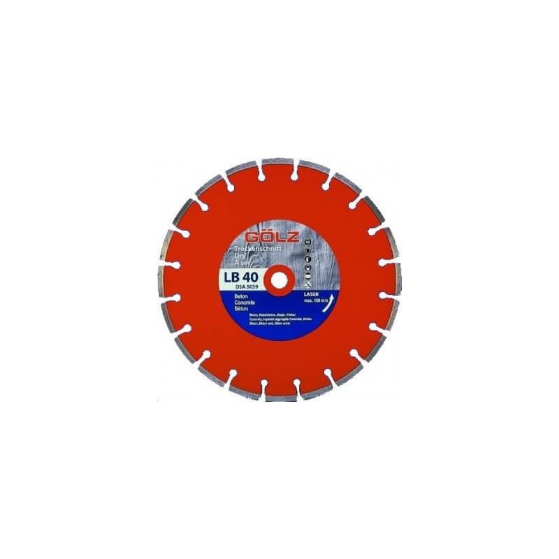 Deimantinis diskas betonui GOLZ LB40