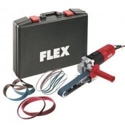 Juostinė šlifavimo mašinėlė su priedų rinkiniu FLEX LBS 1105 VE