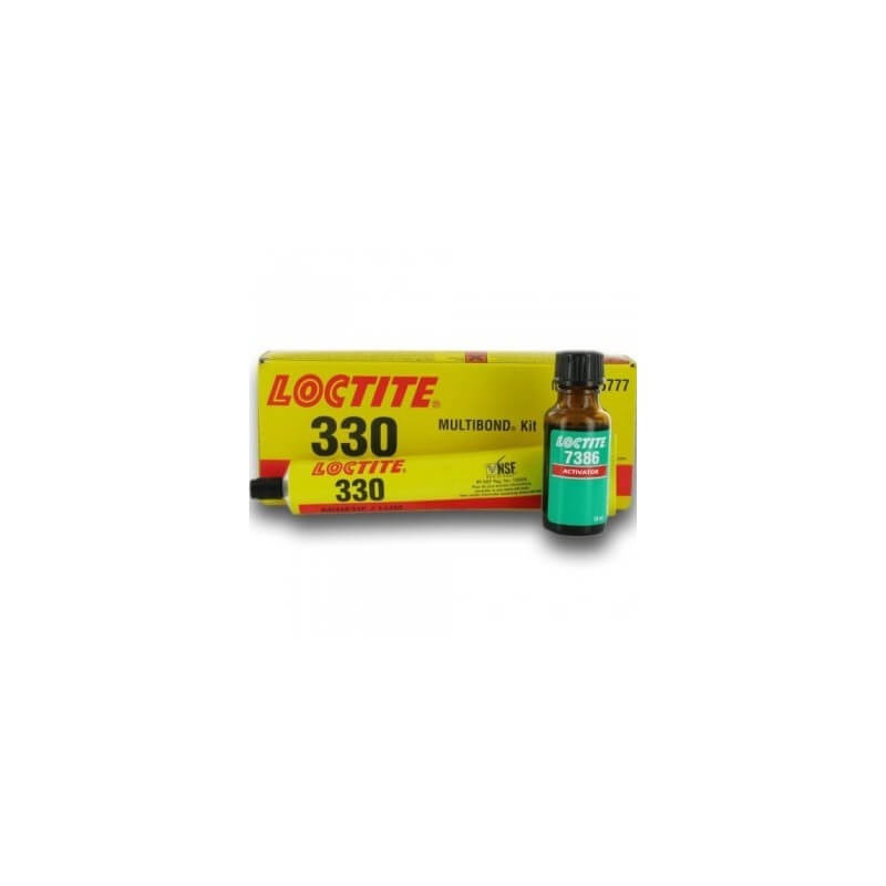 330/7386 akriliniai klijai su aktyvikliu 50 gr LOCTITE
