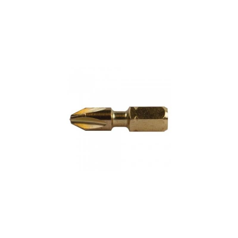 2 vnt. Torsion sukimo antgalių PH 2-25mm MAKITA B-28335