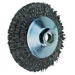 Metalinis šepetys 100x10mm PFERD KBU INOX 0,3 M14