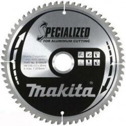 Pjovimo diskas 190x20x2,0mm MAKITA