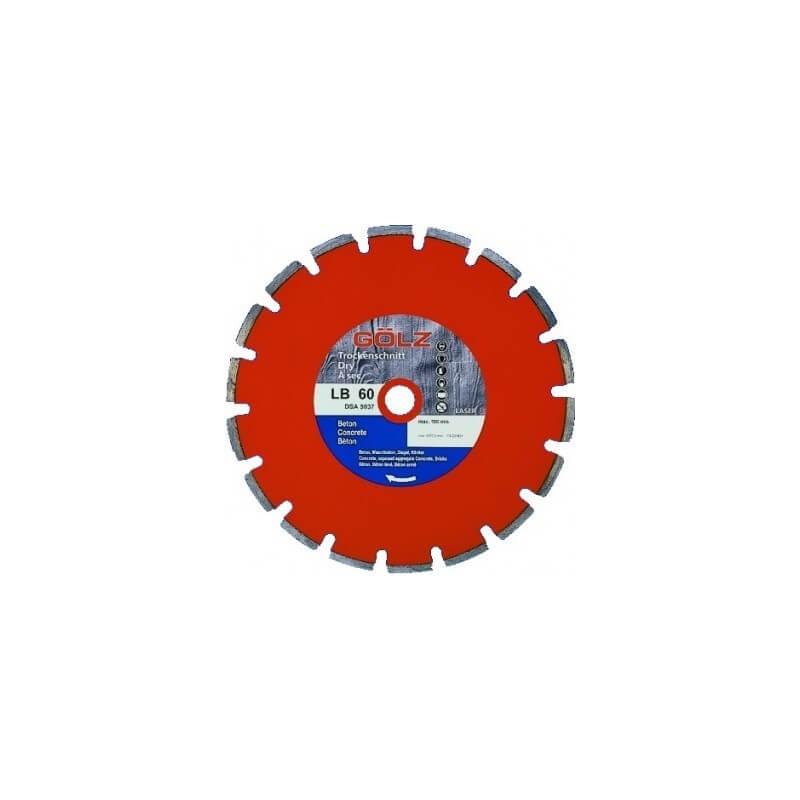Deimantinis diskas betonui LB60 Ø300mm GOLZ