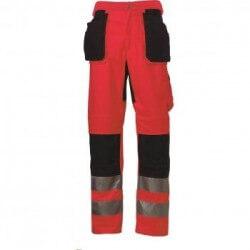 Kelnės HELLY HANSEN su šv. atspind. elementais Bridgewater raudonos C52