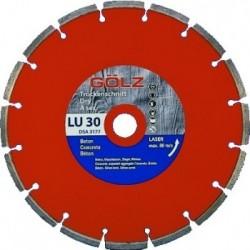 LU30 deimantinis diskas betonui GOLZ