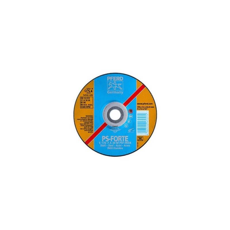 Nerūd. plieno šlifavimo diskas PSF INOX PFERD