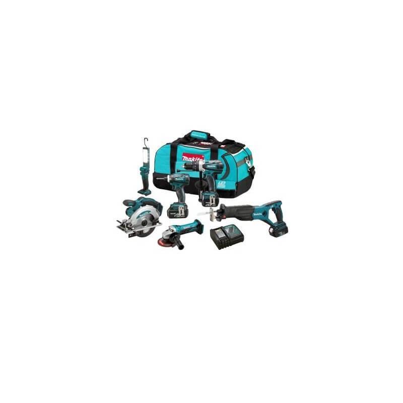 Akumuliatorinių įrankių rinkinys MAKITA DLX6002
