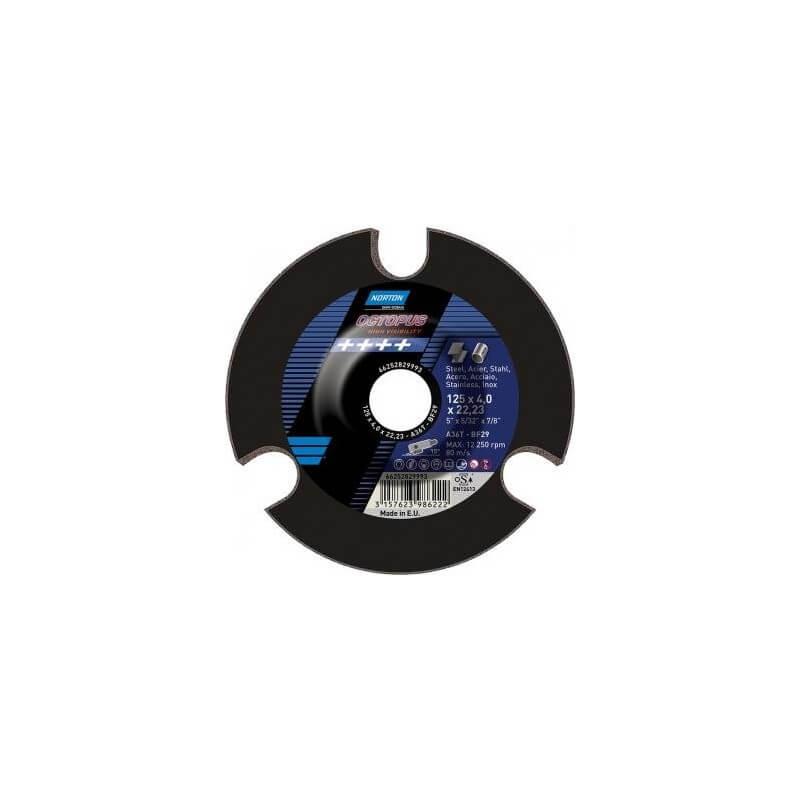 Šlifavimo diskas SAINT-GOBAIN OCTOPUS 125x4x22 A36T