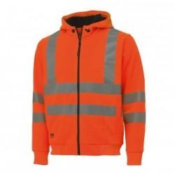 Džemperis VIS Hoodie HELLY HANSEN, oranžinis