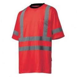 Marškinėliai Kenilworth CL 3 HELLY HANSEN, raudoni