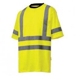 Marškinėliai Kenilworth CL 3 HELLY HANSEN, geltoni