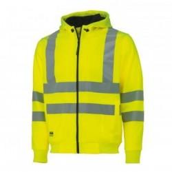 Džemperis VIS Hoodie HELLY HANSEN, geltonas