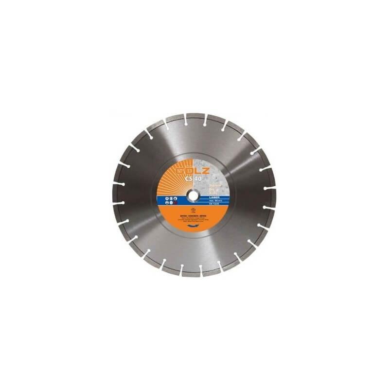 Deimantinis diskas betonui GOLZ CS40