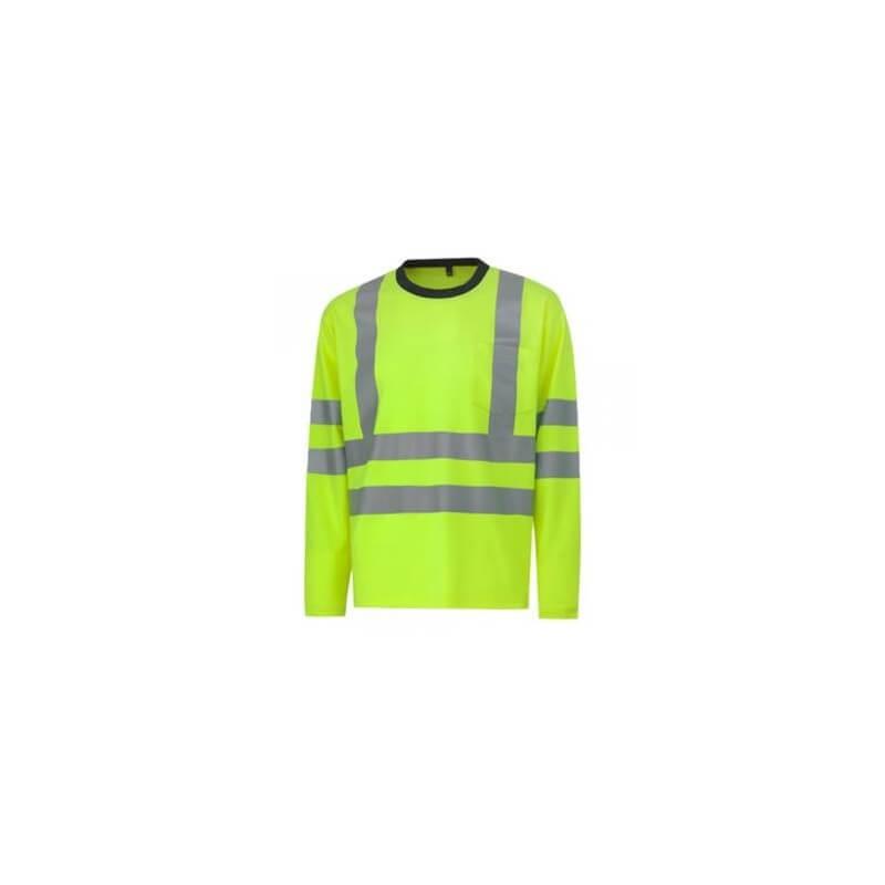 Marškinėliai ilgomis rankovėmis HELLY HANSEN  Kenilworth, geltoni
