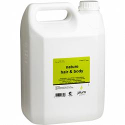 Šampūnas Nature Hair and Body PLUM 5,0L