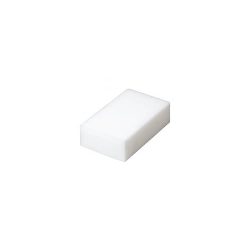 Balta melamino kempinėlė 11x3x7cm