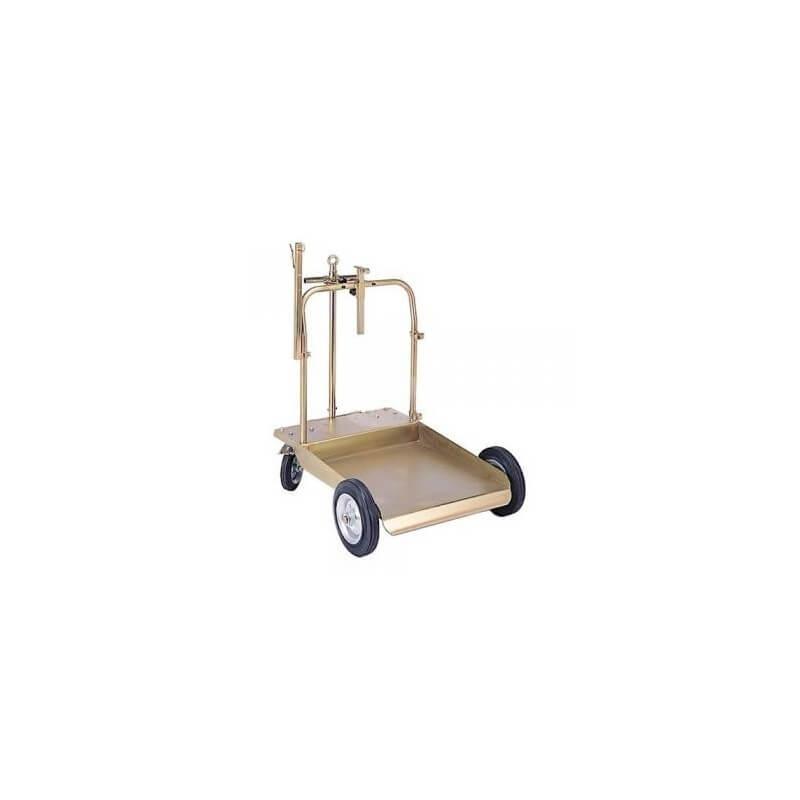 Vežimėlis tepalo statinei 180/220kg ALFA