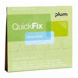 Pleistrai su metalo juostele PLUM QuickFix 6x45vnt.